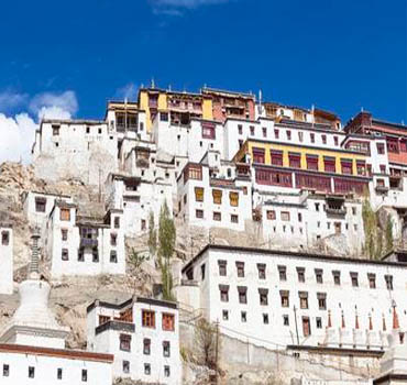 Thiksey and Stock Monasteries